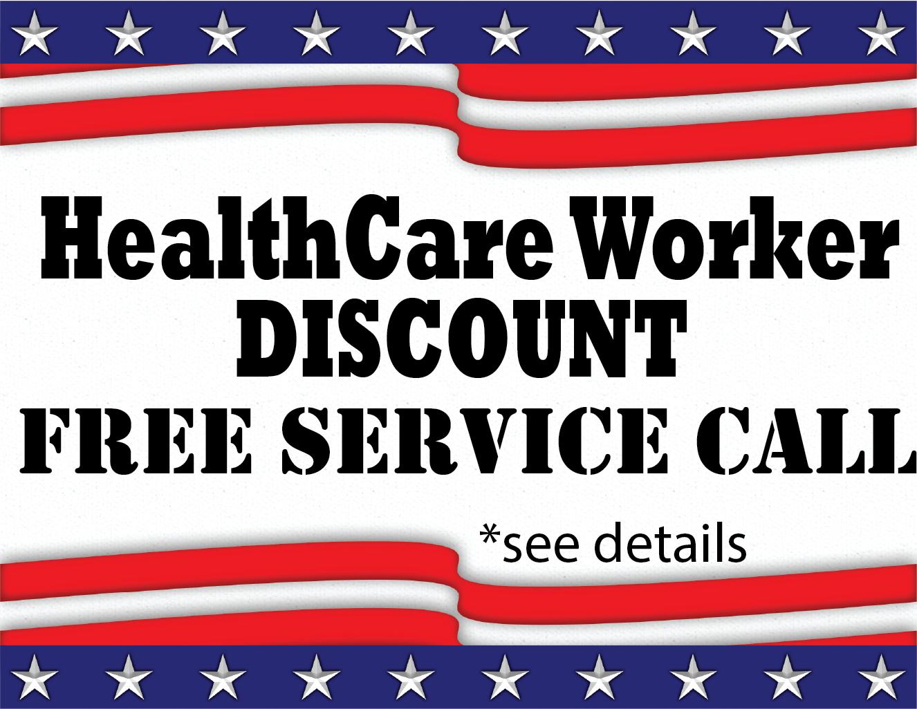Healthcare Worker Discount